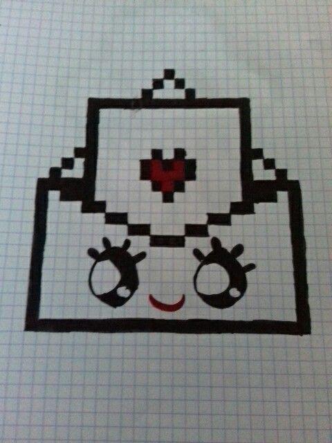 Pixel Art Lettre D Amour Difficultés Moyen Pixel Art