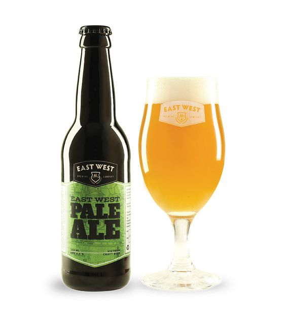 Bia East West Pale Ale 6% - Chai 330ml
