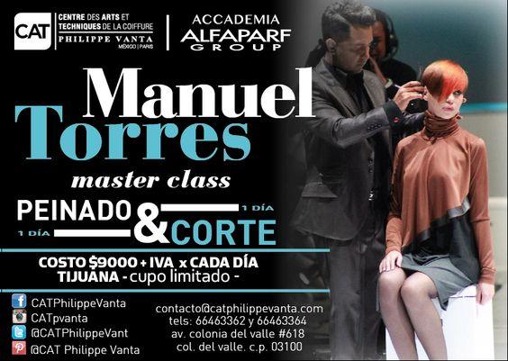 Manuel Torres en Tijuana con corte y peinado
