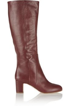 Taylor Swift Style - burgundy leather boots from #rupertsanderson #getthelook #sale