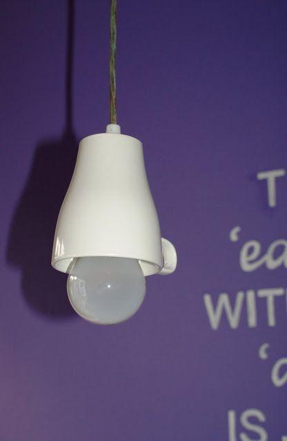 Ikea Hackers! Tasse Ikea-Lampe