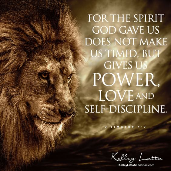 Wherever God has you today, be bold in the Lord!