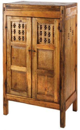 Image Detail for - Taos Pie Safe: Southwest Furniture, Santa Fe Style: Southwest Spanish ...