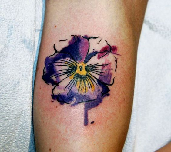 violet tattoos - Google Search