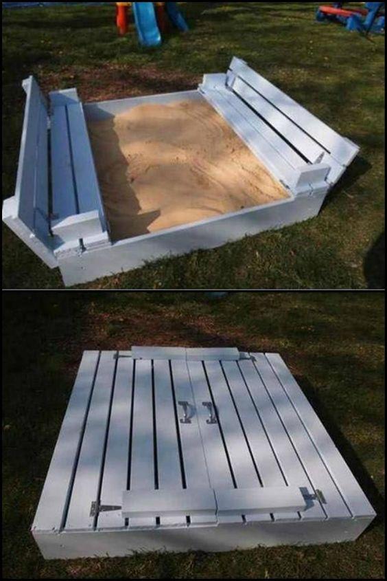 10 creative sandbox design ideas for your kids httptheownerbuildernetworkco sandbox design ideas