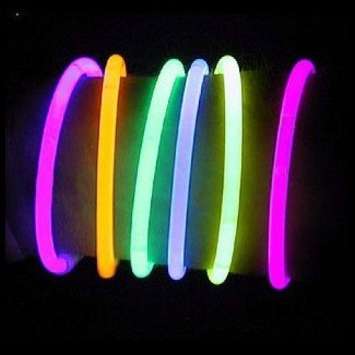 8 LumiStick Brand Glowsticks Glow Stick Bracelets Mixed Colors (Tube Of 100)…