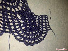 crochelinhasagulhas: Túnica, saída de praia ou vestido bege de crochê