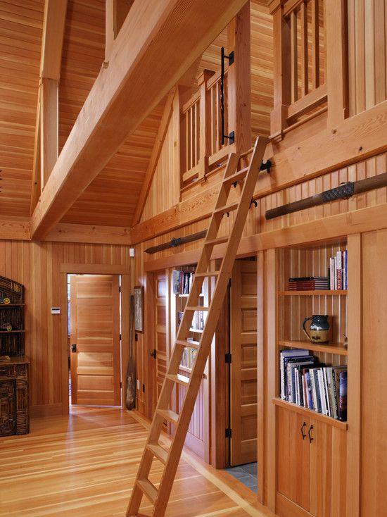 Loft Cabin And Loft Ideas On Pinterest