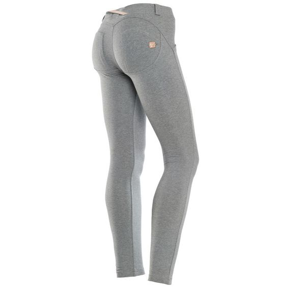 WR.UP® SHAPING EFFECT - 7/8 Ankle Length - Melange Grey