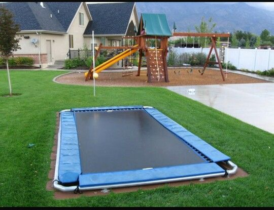 Lower your homeowners insurance with the shouldnt hurt as bad trampoline