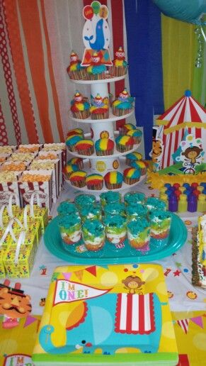 Jaylan's 1 & 1 / 4th Carnival Birthday Party