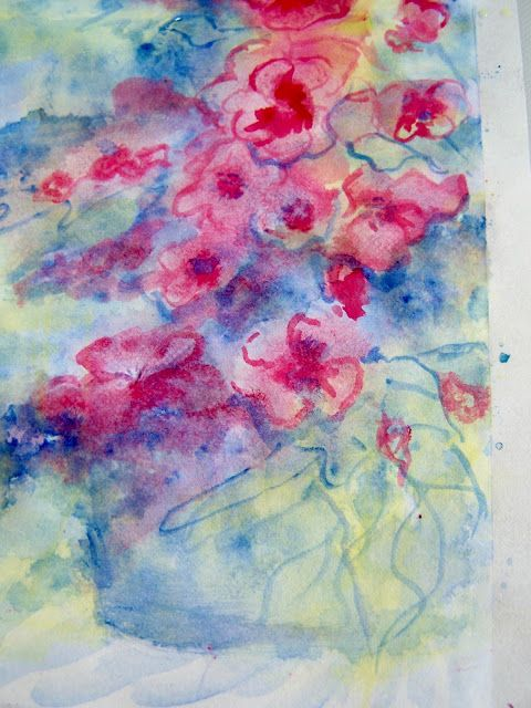World Watercolor Month Day 1 Primary Palette World Water Color