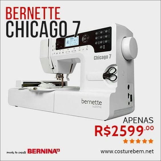 Bom Adquira hoje mesmo sua Bernette Chicago 7 por um preço especial R$2599,00 (oferta válida até 28/03/2015) , Adquira hoje mesmo sua Bernette Chicago 7 por um preço especial R$2599,00 (oferta válida até 28/03/2015) //   Post by CostureBem, Costura, Artes... , Rogério Wilbert , http://blog.costurebem.net/2015/03/adquira-hoje-mesmo-sua-bernette-chicago-7-por-um-preco-especial-r259900-oferta-valida-ate-28032015/ ,