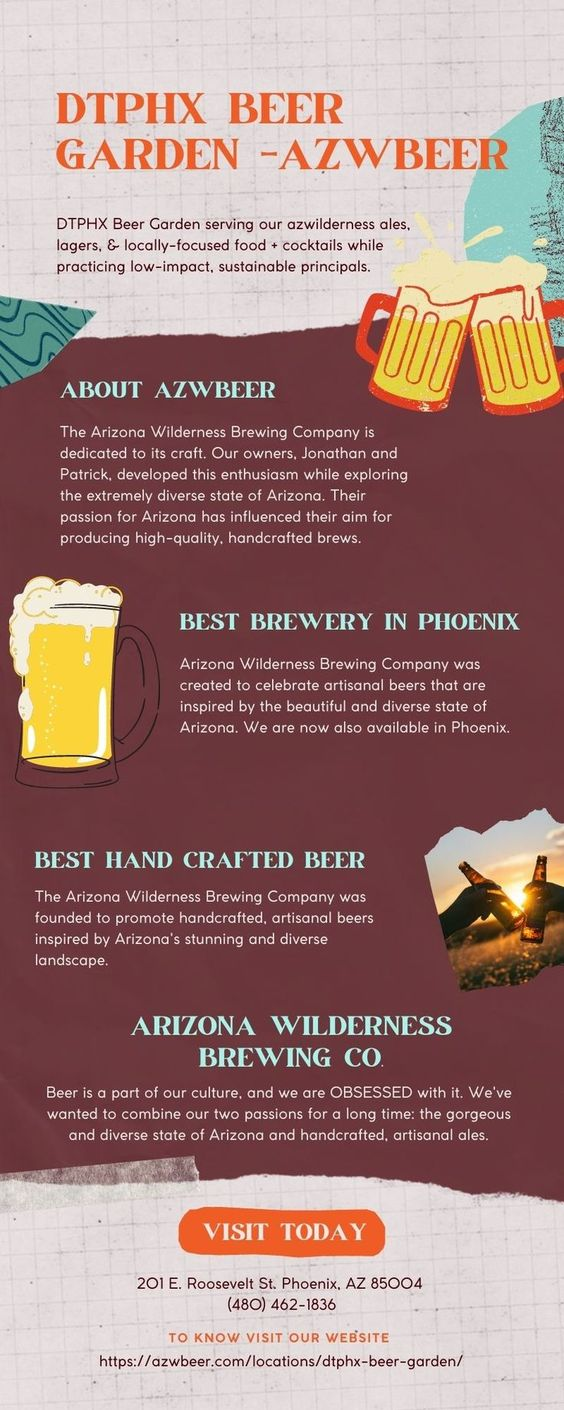 DTPHX BEER GARDEN - Arizona Wilderness Brewing Co.