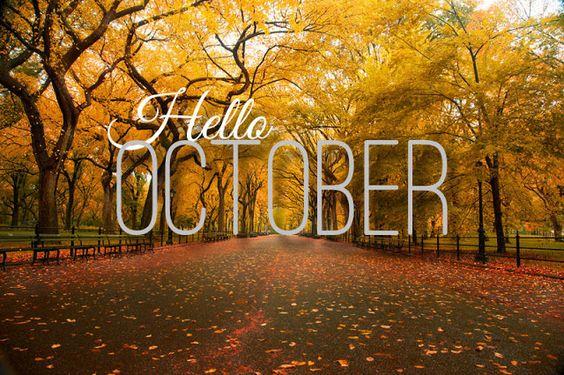 A coincidência Posh: Olá, Outubro :) Olá, Outubro :)