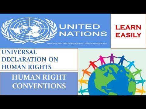 Universal Declaration On Human Rights Human Right Council Youtube Human Rights Council Human Right Human