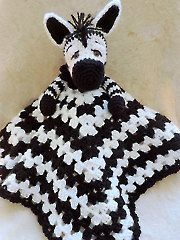 Zebra Huggy Blanket crochet pattern download from Annie's Craft Store. Order here: https://www.anniescatalog.com/detail.html?prod_id=127953&cat_id=24