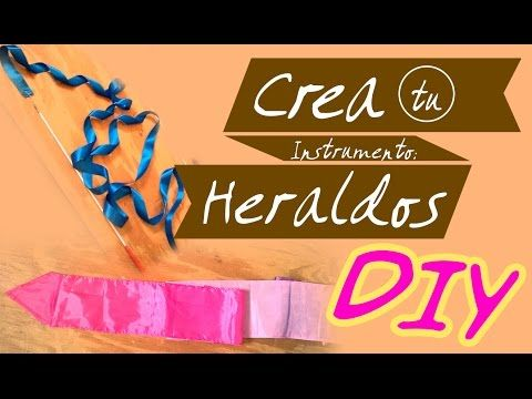 DIY Cintas o Heraldos para Danza ♥ Instrumentos de Alabanza - YouTube