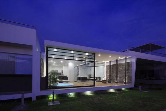 """Zen House by Estudio Gómez de la Torre & Guerrero Arquitectos """"Location: Asia District, Peru"""" 2013"""