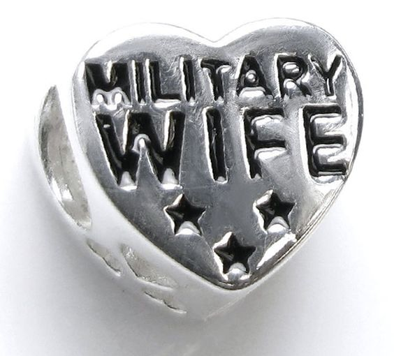 "Amazon.com: Luxury & Custom {10 x 11mm w/ 4.8mm Hole} of 1 Loose Medium Size ""Shape"" Bead Made of Genuine Sterling Silver w/ Military Wife & American Flag Back Labor Day Heart Design {Silver, Red, White & Blue}: mySimple Products: Arts, Crafts & Sewing"