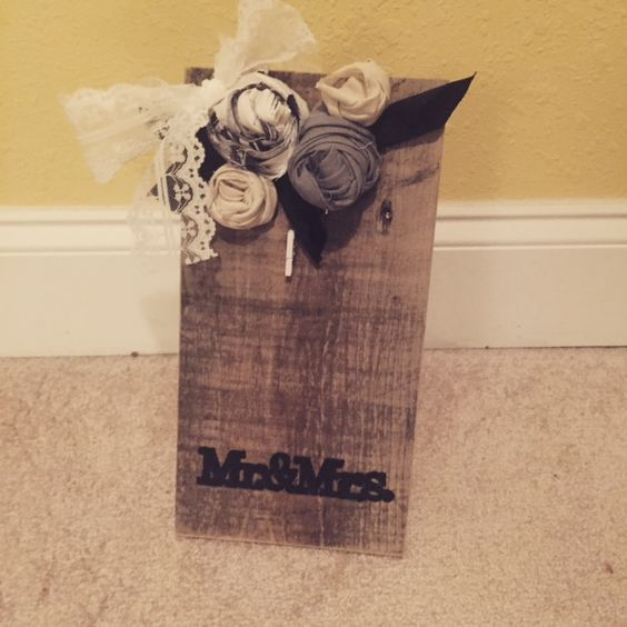 Mr. & Mrs. Picture Frame - $15 US