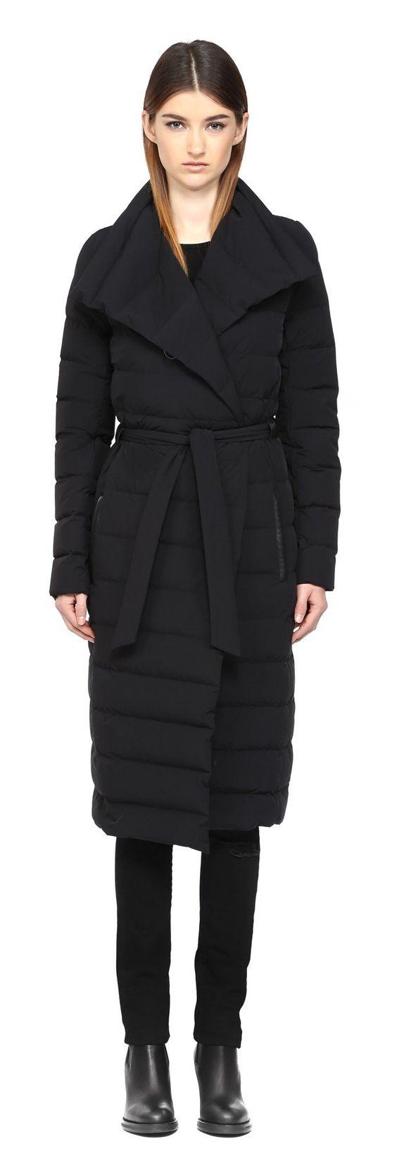 mackage lightweight long down coat | Fashion | Pinterest | Coats