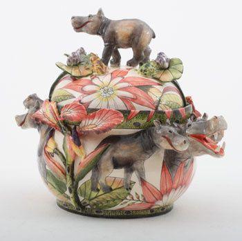 Ardmore Ceramics: Hippo Tureen