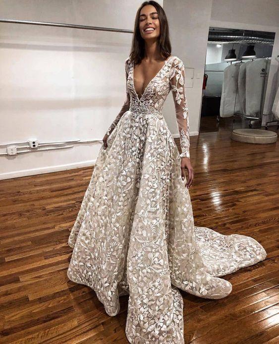 Wedding Gown Attractive Photo A Line Wedding Dress Top Wedding Dress Designers Wedding Dresses Unique