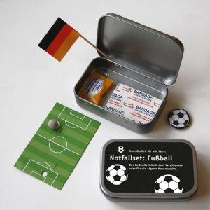 Notfallset für Fußballfans