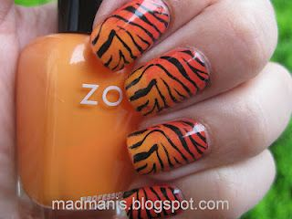MaD Manis: Gradient tiger