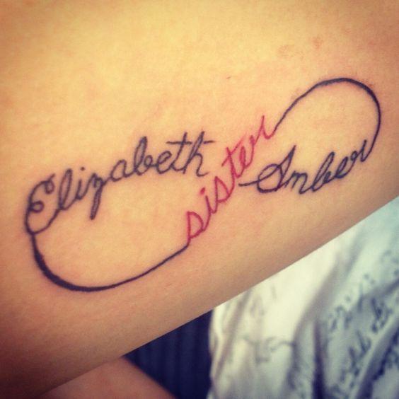 Sister tattoo tattoos pinterest tatouages s urs - Tatouage de soeur ...