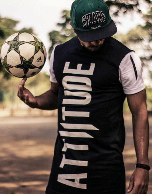 The Poser!! Brazilian Freestyle and Futsal player, Pablo Guilherme's Attiitude pose #spotted