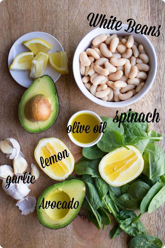 avocado hummus ingredients