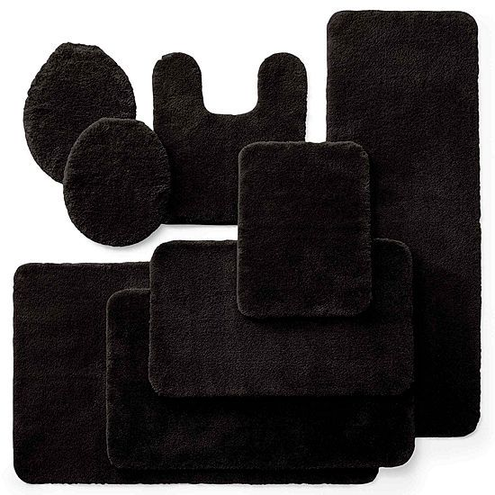 Royal Velvet Plush Bath Rug Collection J C Penney Ad Plush