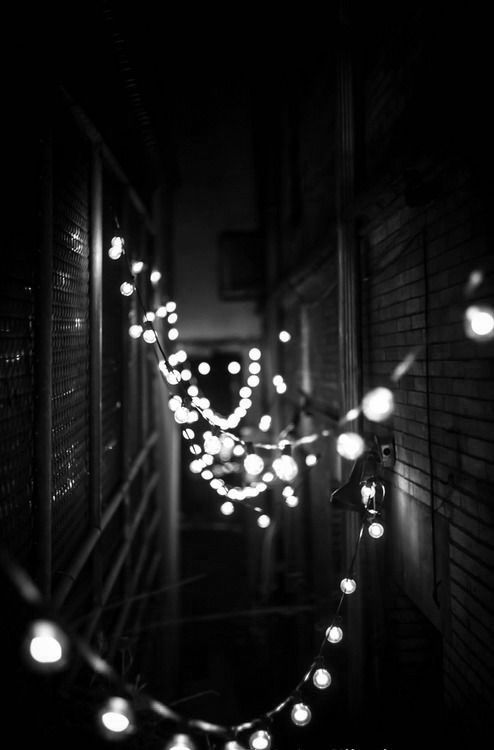 Lights l black and white