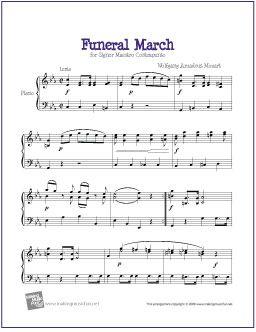 mozart easy piano pieces pdf