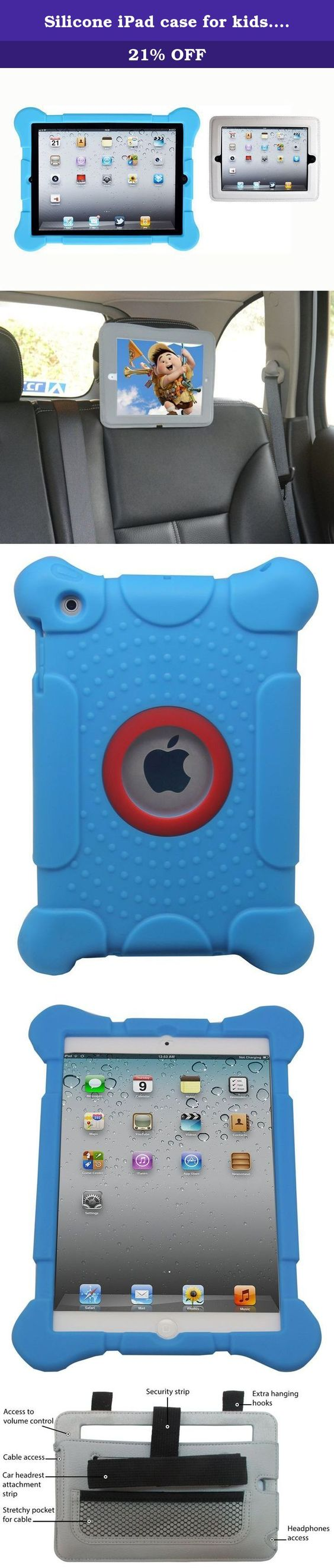 silicone ipad case for kids fits apple ipad 2 3 4 models