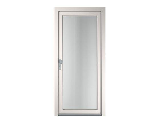 Porte d'entrée vitrée en PVC pour l'exterieur CREATIV by FINSTRAL