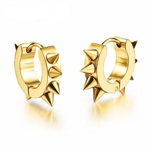 Mens Gold Earrings Designs Gold Earring For Man Price Gold Studs For Mens Online India Men S Sin Small Earrings Studs Mens Earrings Studs Stud Earrings For Men