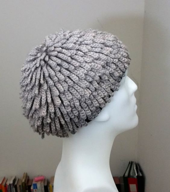Knitting Pattern For Nudu Hat : Sale Pure Wool Billy Gibbons inspired Hat, ZZ Top, Nudu Hat, Chemo Hat, Afric...