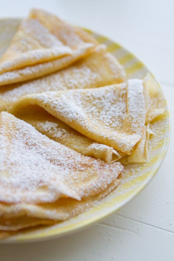 This is my Mom's easy, fail-proof recipe for crepes. After visiting Paris last Fall, I can safely say these are better!                                                                                                                                                      More
