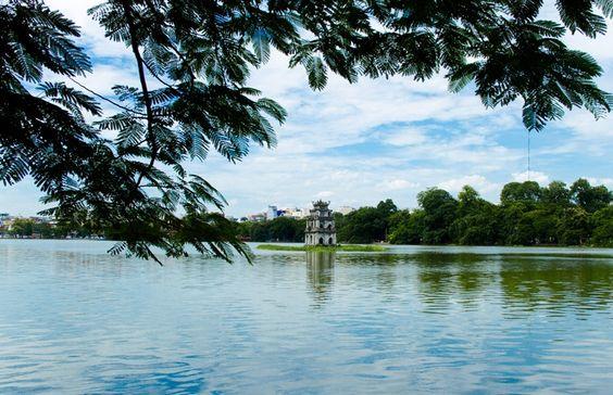 Hoan Kiem Lake - Hanoi - Vietnam: Hoan Kiem, Hanoi Vietnam, Viet Nam, Traveler S Paradise, World, Lake Hanoi