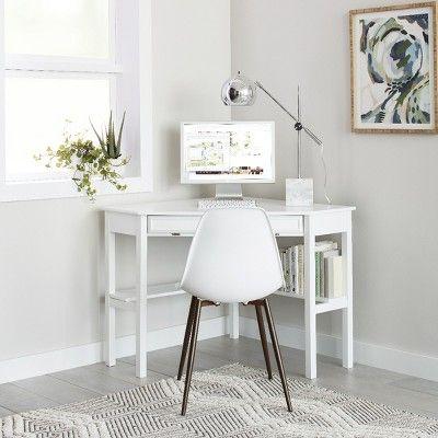 2pk Copley Dining Chair White Project 62 White Corner Desk Modern Corner Desk Home Office Design