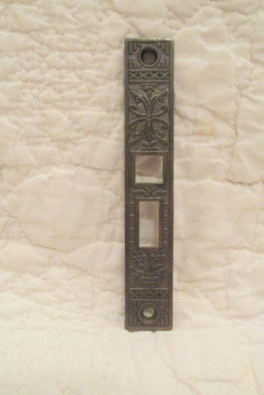 vintage eastlake pocket door plate sale by rarefinds4u on etsy