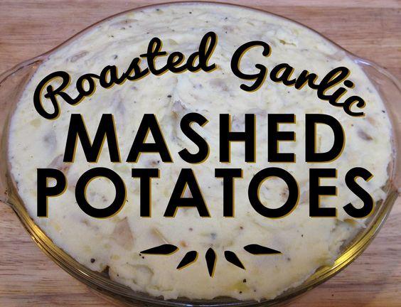Famous Roasted Garlic Mashed Potatoes | Blog to Taste