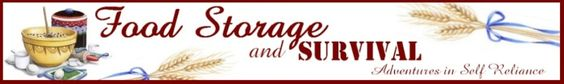 Food Storage and Survival