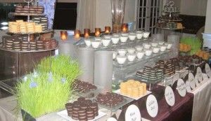 "I'm determined to change the trend of the always seen ""candy bar"" at weddings to a ""cookies and milk"" bar!"