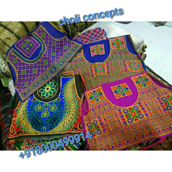 Choli and blouses