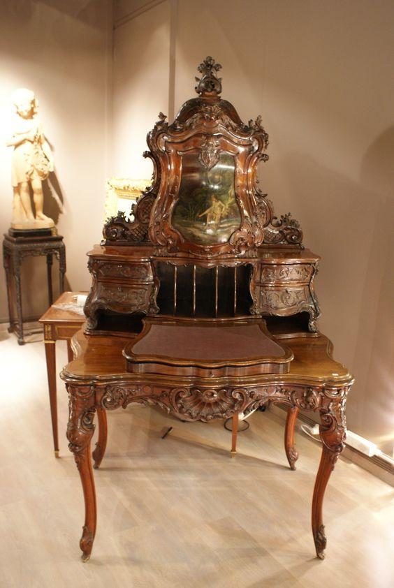 Louis XV style desk: