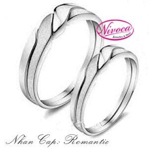 Nhẫn Cặp Romantic - Rings couple Romantic